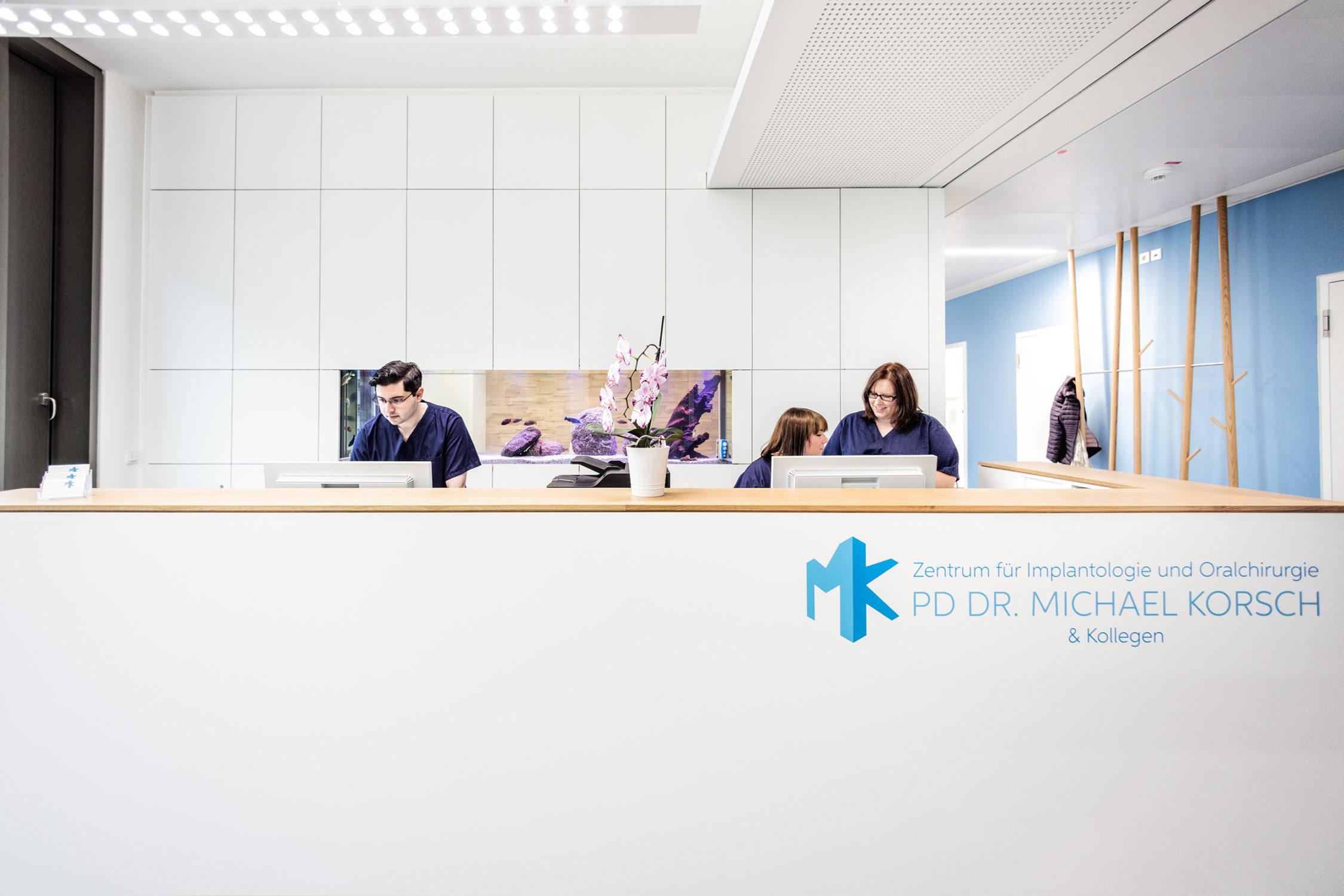 Dr. Korsch Anmeldung