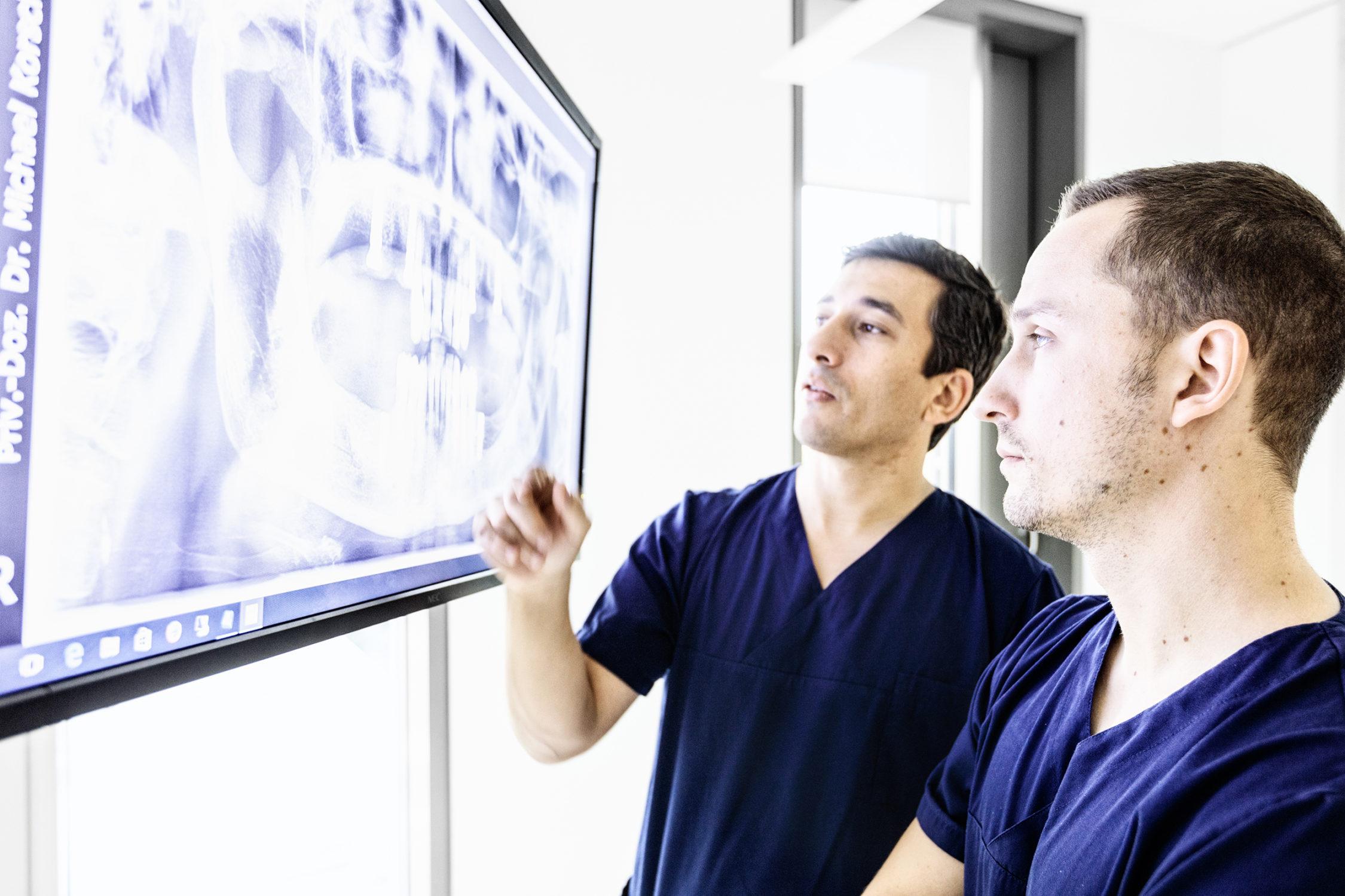 Dr. Korsch Röntgenbildbesprechung